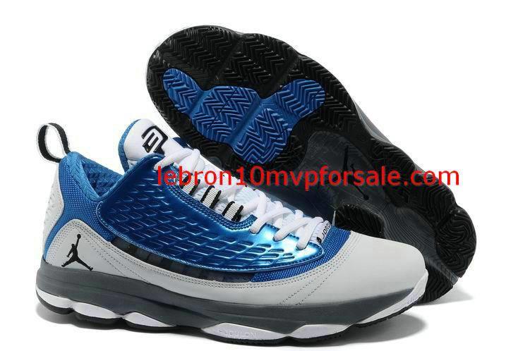 Jordan CP3 VI AE X True Blue Black White Cement Grey 580580 403