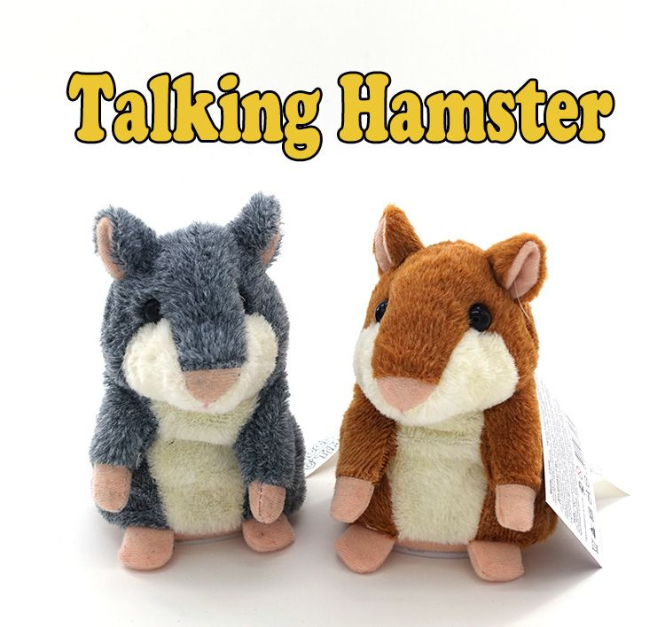 Hot Sale Lovely Talking Hamster Plush Toy Sound Record Speaking