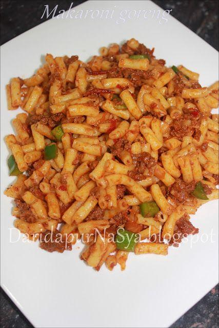 Makaroni Goreng Resep Masakan Makanan Masakan
