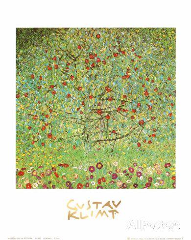The Apple Tree Prints by Gustav Klimt - AllPosters.co.uk