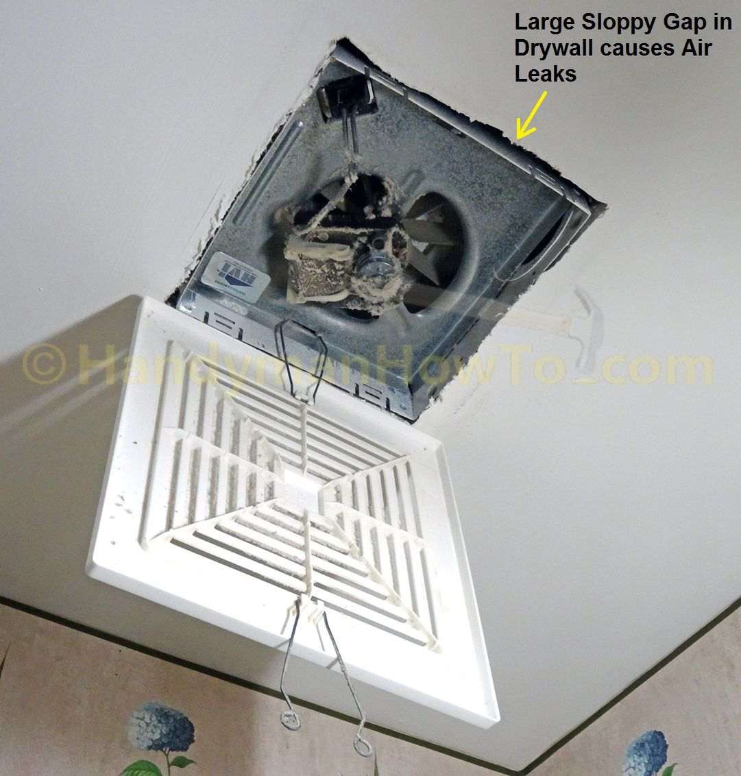 Exhaust Fan Roof Vent Cover Bathroom