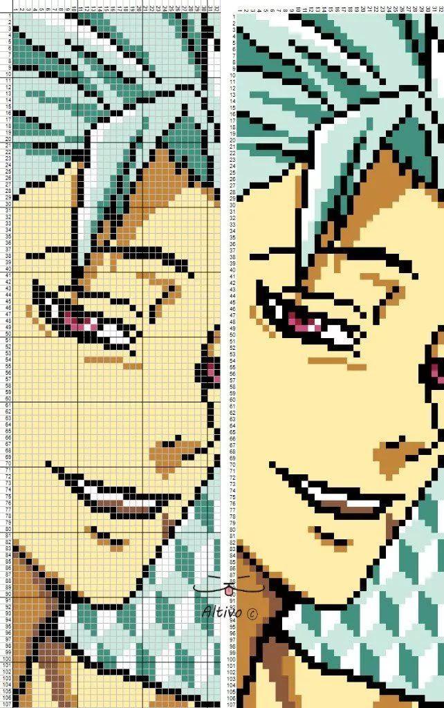 Pin by Seagull on Pixel art Anime pixel art, Minecraft