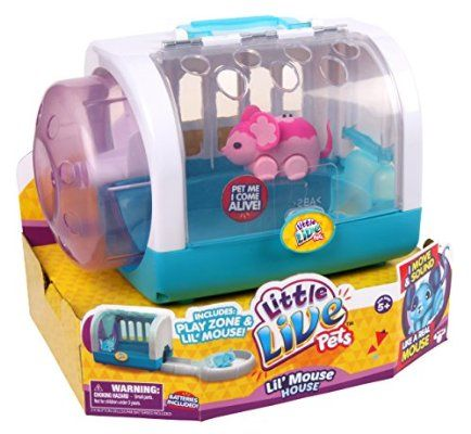 (Purchased) Claire Little Live Pets S1 Mice Cage Set