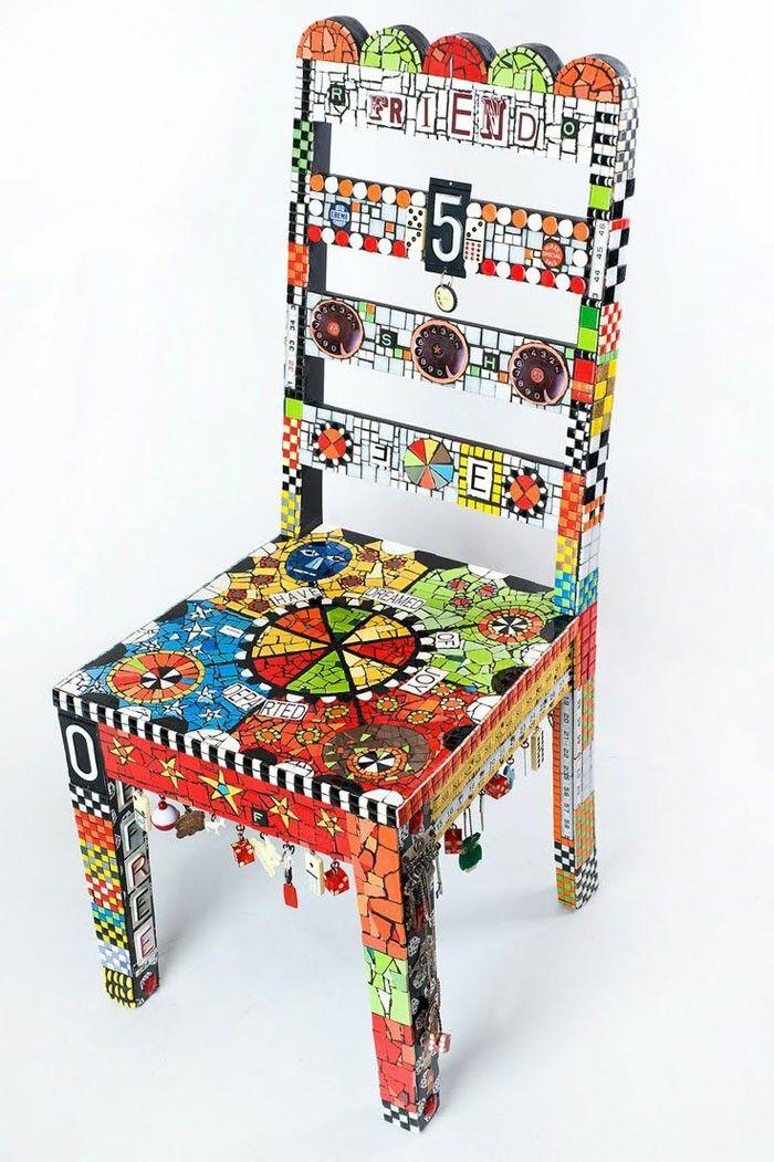 42 Upcycling Ideen Wie Man Alte Stühle Dekorieren Und