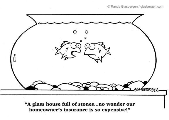 insurance   Randy Glasbergen - Today's Cartoon #insurancequotes
