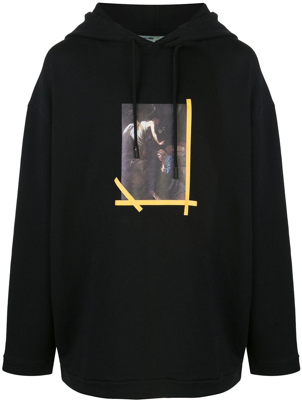 Off White Sudadera Figures Of Speech De Off White X Mca Farfetch In 2021 Off White Designer Hoodies Printed Sweatshirts [ 1334 x 1000 Pixel ]