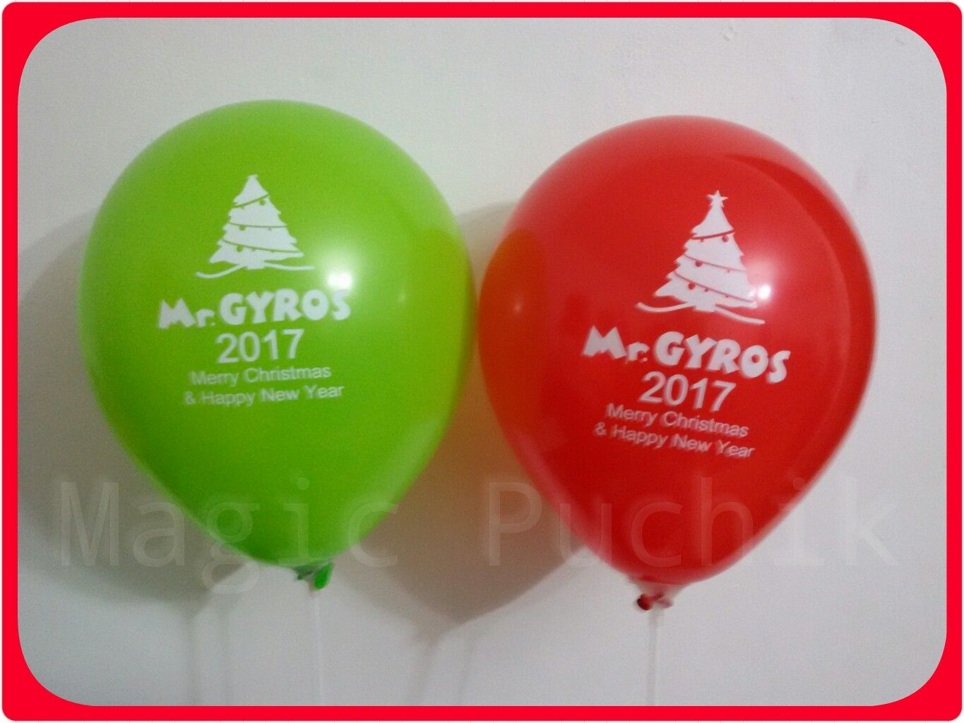 Merry Christmas & Happy New Year from Mr.GYROS