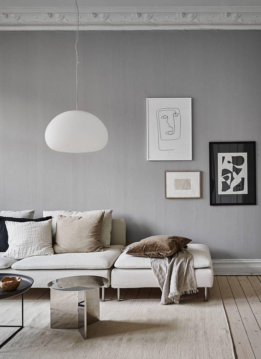 Mobili Da Soggiorno Bianchi grey home with a natural touch | decorazione di stanze