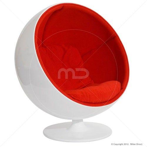 Ball Chair Red Replica Ball Chair Bubble Chair Chair