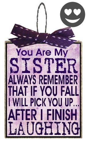 Christmas Decorations Sister Gifts I Will Pick You up Purple