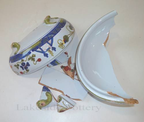 Ceramic China And Porcelain Repair And Restoration Cost Estimate