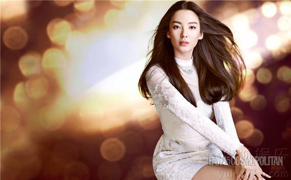 Chinese actress Zhang Yuqi