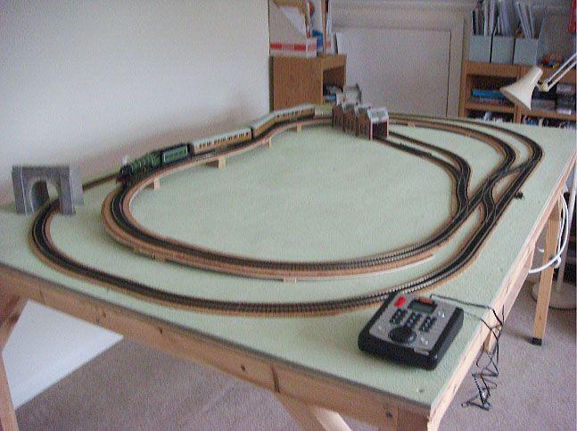 Chris 6 X 4 Layout Progress Model Railway Layouts Plans