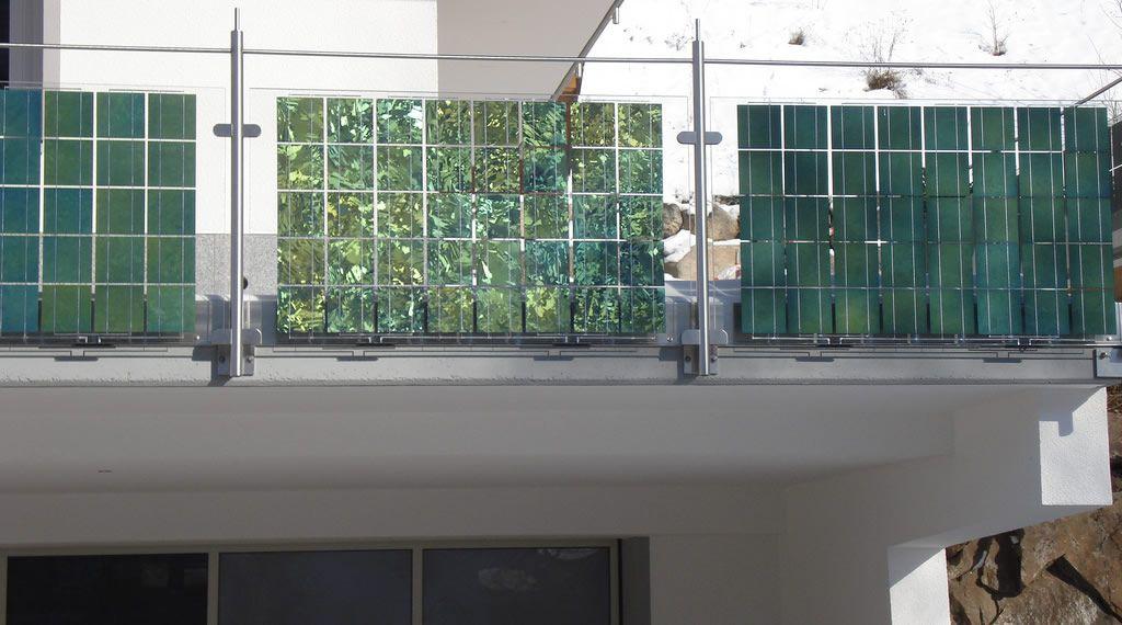 Solar Balcony, Solar Barricades, Balustrade | Balcony design, Solar panels  design, Solar