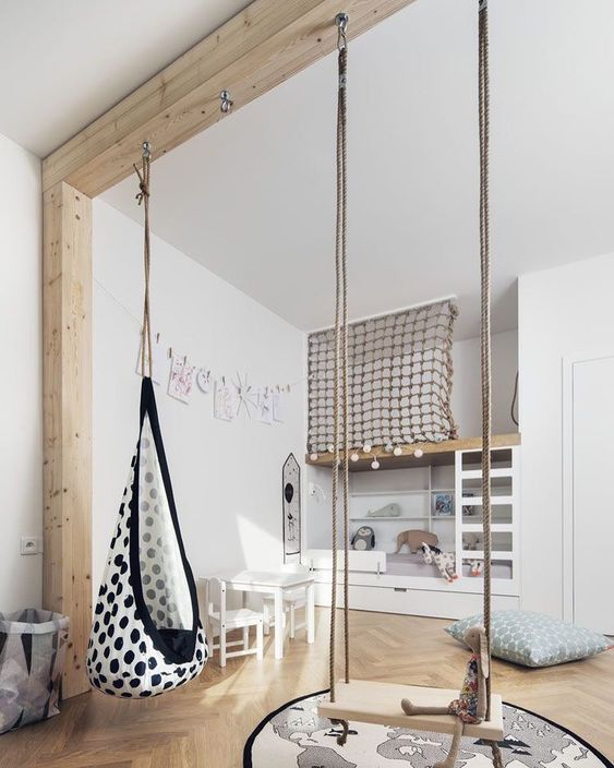Amazing Children bedrooms with swing