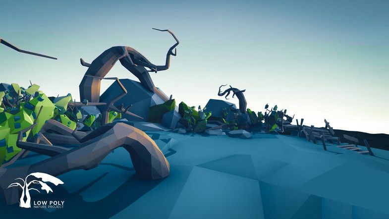 Free Low Poly Nature Project Pack 2 Swamp Sponsored 3d Nature