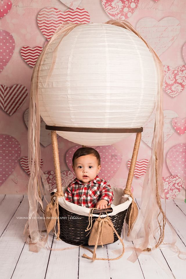 Get 3 Free Balloons Quot Little One S Quot Hot Air Balloon Basket