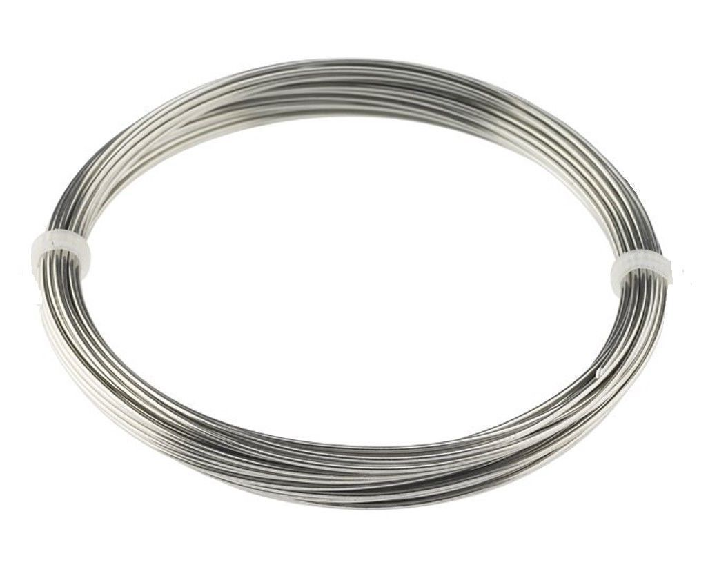 Beads And Jewelry Making 31723 10 Feet 12 Gauge 2 0mm Stainless Steel Zinc Free Wire Jewelry Bird Toys Buy It Now Only Jewelry Wire Jewelry Bird Jewelry