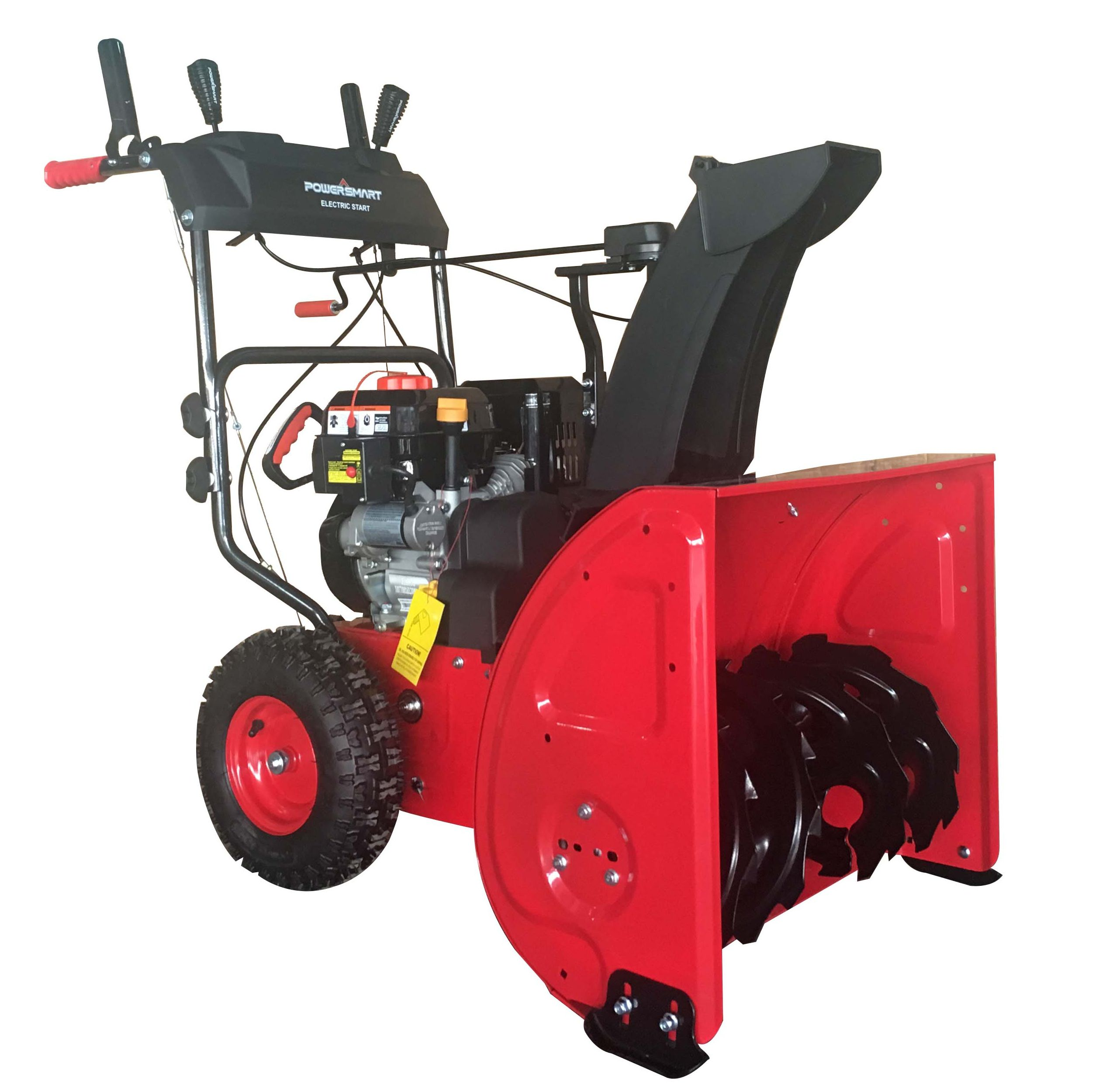Recomeneded Powersmart Db72024pa 24 Inch 2 Stage Gas Snow Blower With Power Assist Home And Yard Gas Snow Blower Snow Removal Equipment Snow