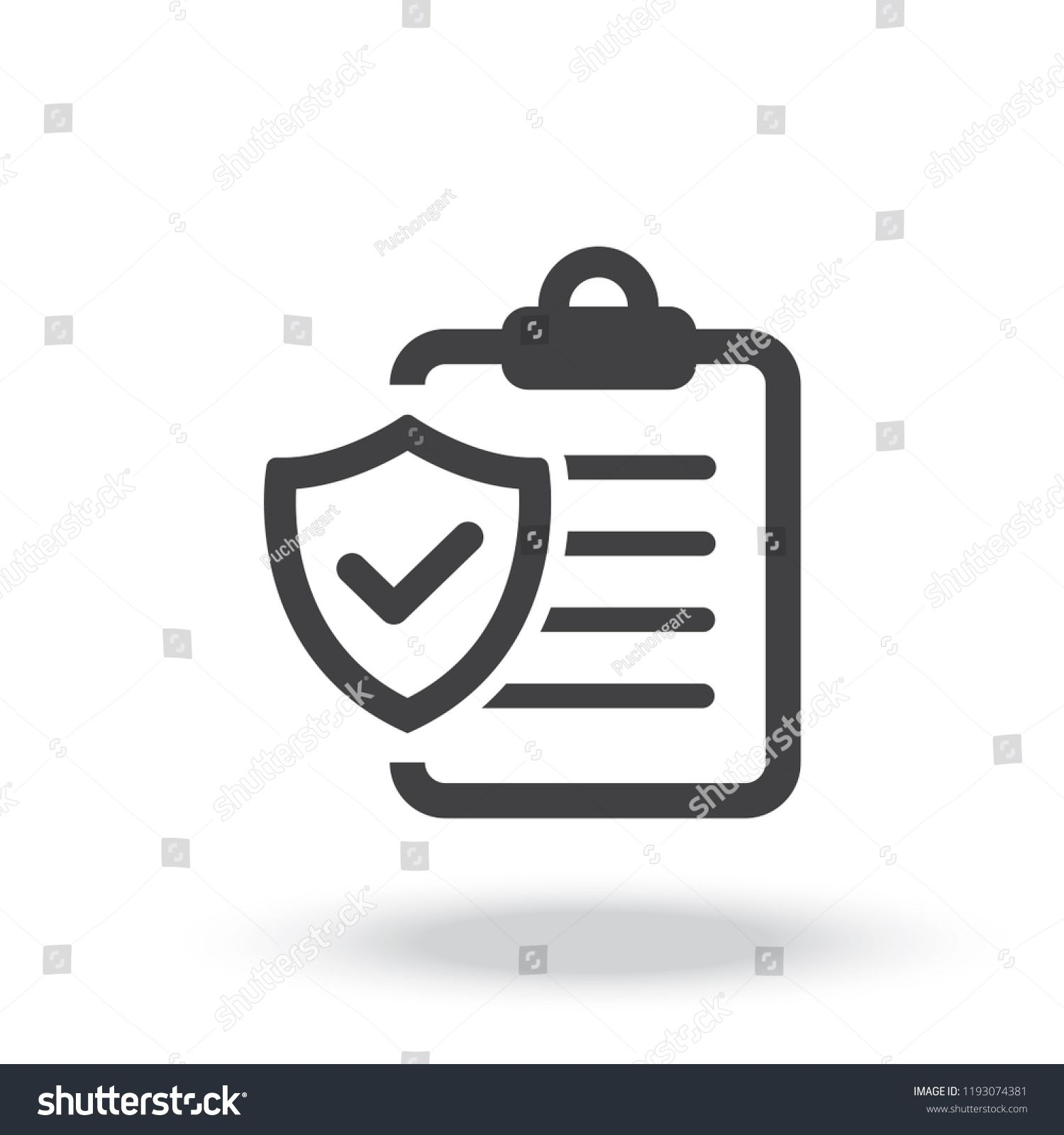 Insurance Policy Icon Vector Ad Paid Policy Insurance Vector Icon In 2020 Logo Design Vector Icons Vector