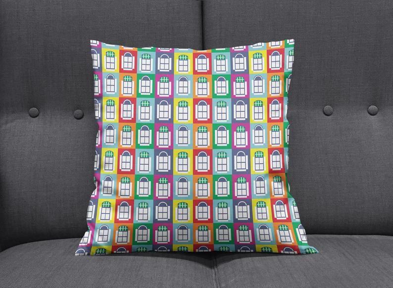Rainbow Cushion Rainbow Home Decor Bedroom Cushions Sofa Cushions