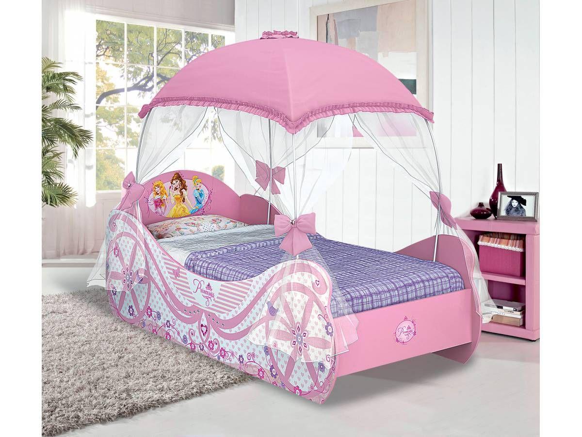 Tienda inglesa mostrando articulo cama princesas disney - Cama nina princesa ...