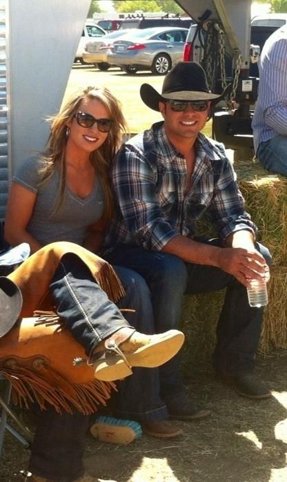 """❦ Jessica Holmberg and Anthony Lucia is a 27-year-old cowboy from Weatherford, Texas who has been part of the rodeo all his life. The son of famous rodeo star and animal trainer Tommy Lucia, Anthony started trick roping when he was nine. Since then, he's gone on to perform at rodeo events all over the country. His skills were even featured on season 5 of NBC's """"America's Got Talent."""""""