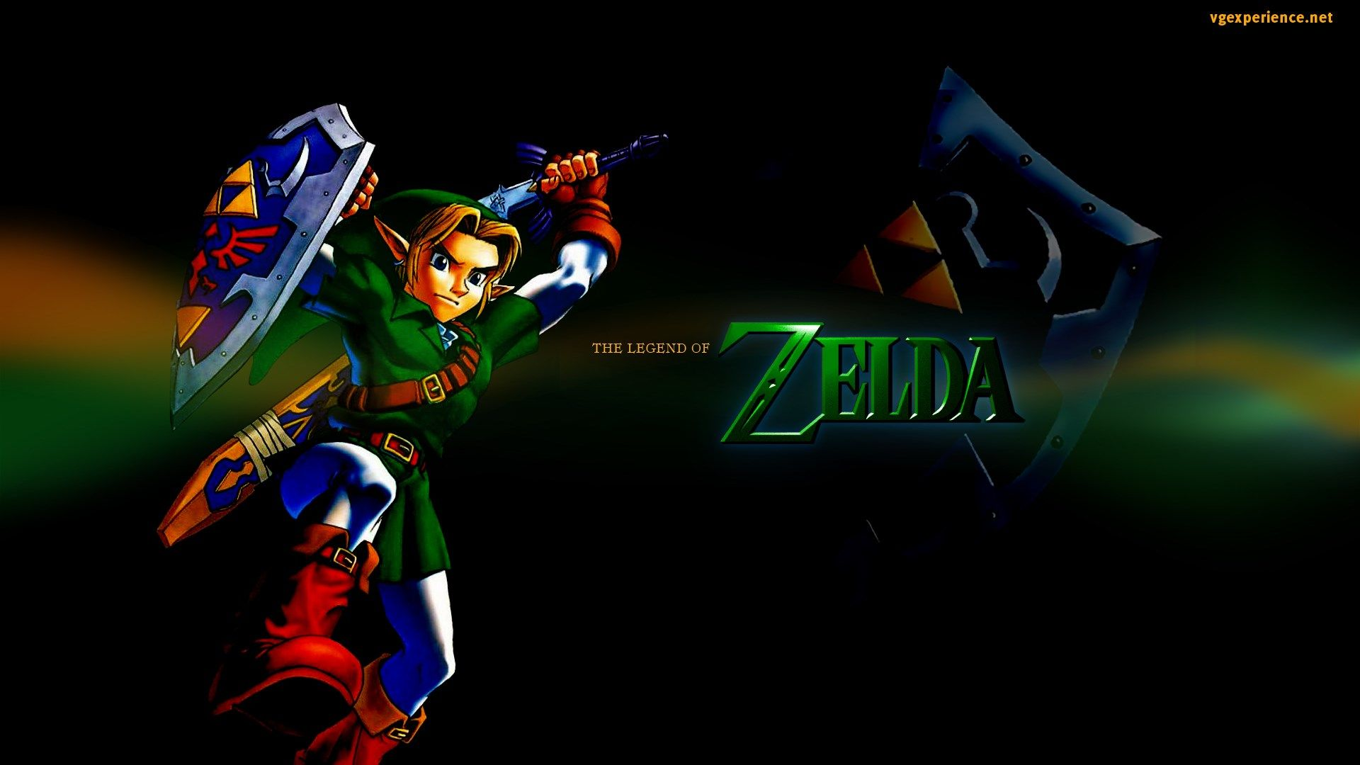 1920x1080 Hd Wallpaper The Legend Of Zelda Ocarina Of Time