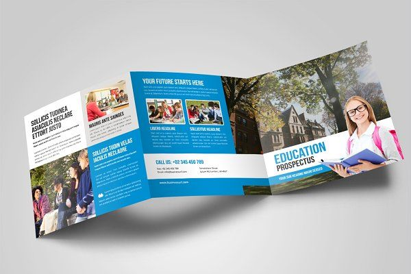 College University Prospectus Bundle by Miyaji75 on - university brochure template