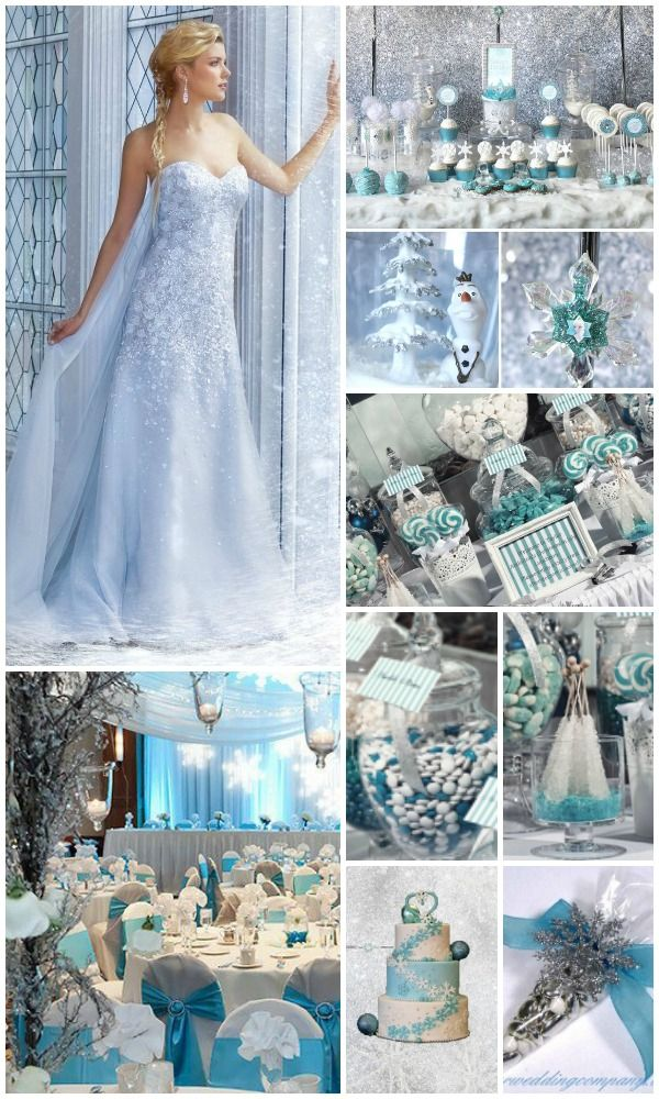 Top 6 Incredible Winter Wonderland Wedding Decorations Ideas With