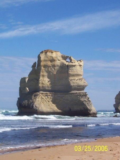 typical view along the Great Ocean Road