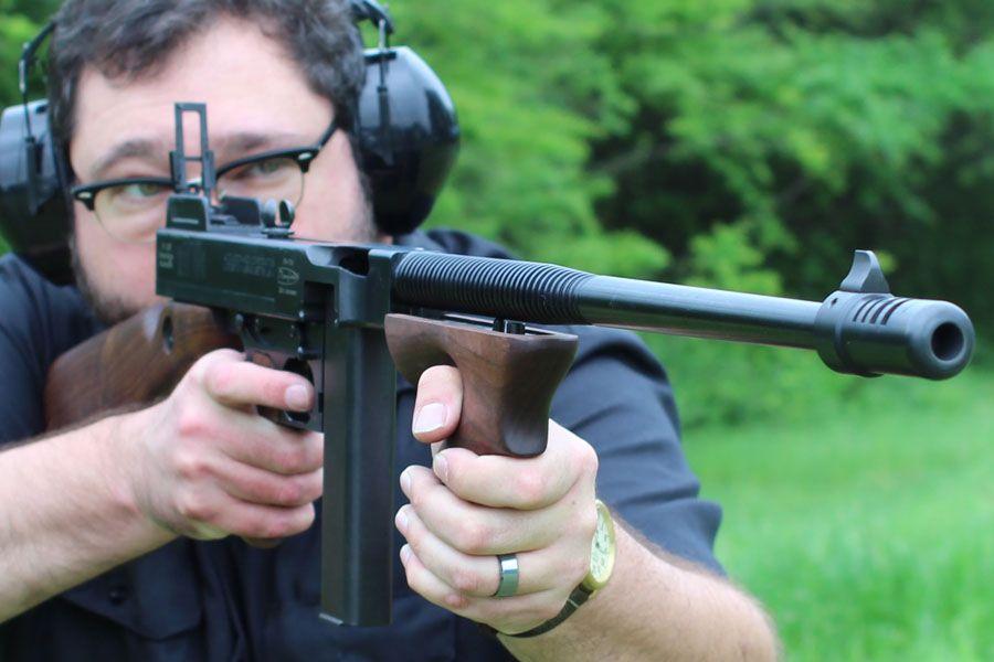 45 thompson machine gun