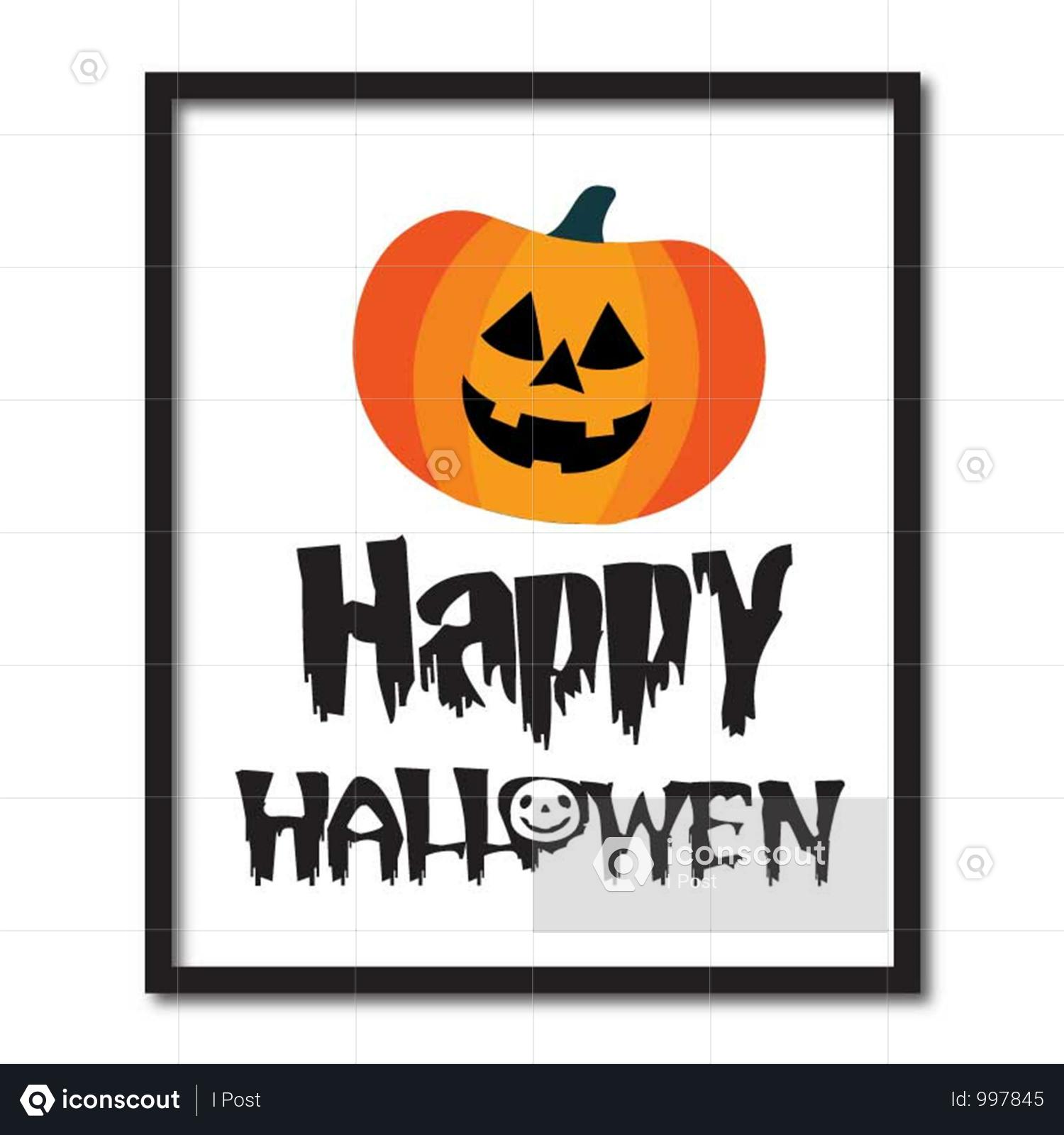 Premium Happy Halloween Illustration Download In Png Vector Format Halloween Illustration Happy Halloween Halloween Vector