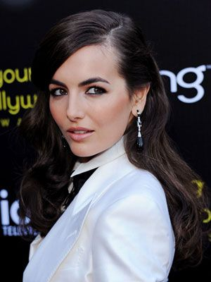#CamillaBelle looks #classic with her #raven colored #hairstyle. #celebbeauty #celebstyle #hair #loveit