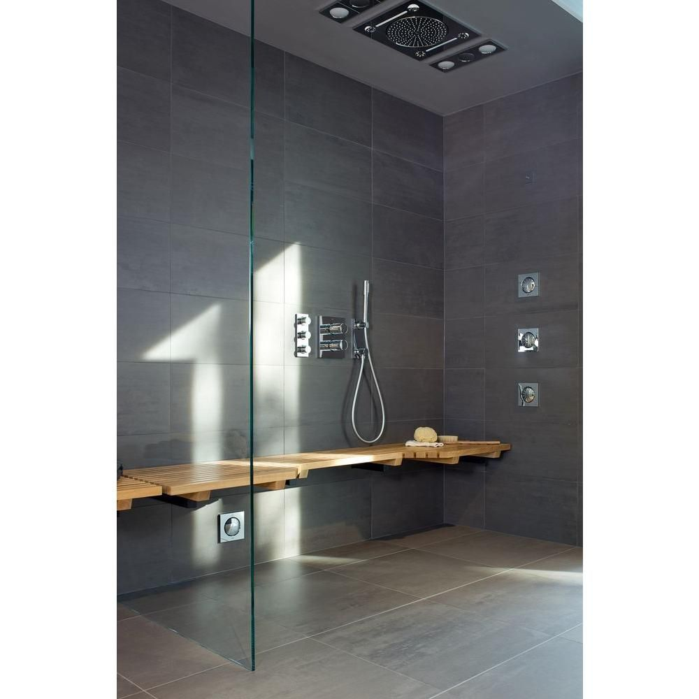 Curved Grab Rail Luxury Finish Support Handle, Shower Bar