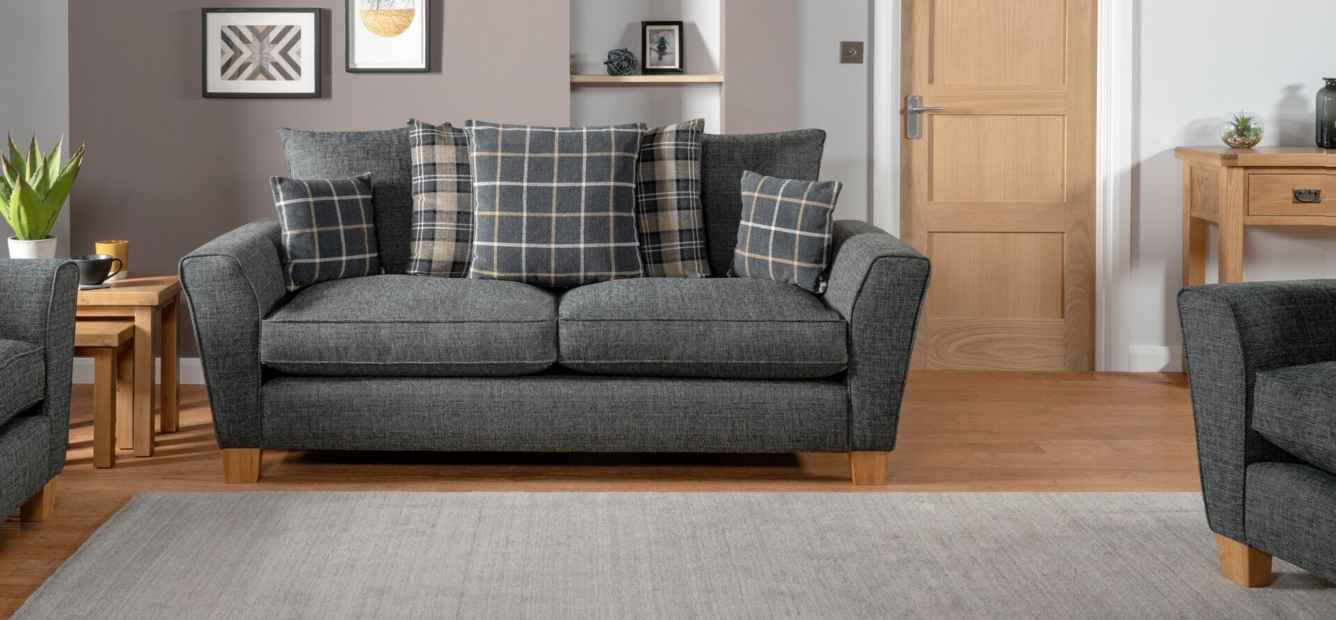 Harry 3 Seater Sofa Scatter Back With Images Seater Sofa Sofa Shop 3 Seater Sofa