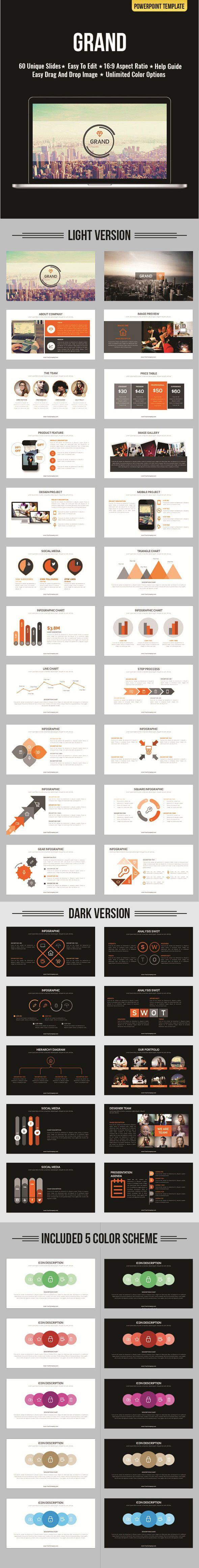 Grand Powerpoint Presentation Design Powerpoint Design