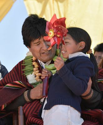 #Bolivia Informa: #Energía limpia: Evo inaugura 2da fase de Parque #Eólico…