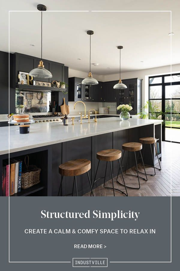 How To Incorporate Structured Simplicity Into Every Room Of The Home