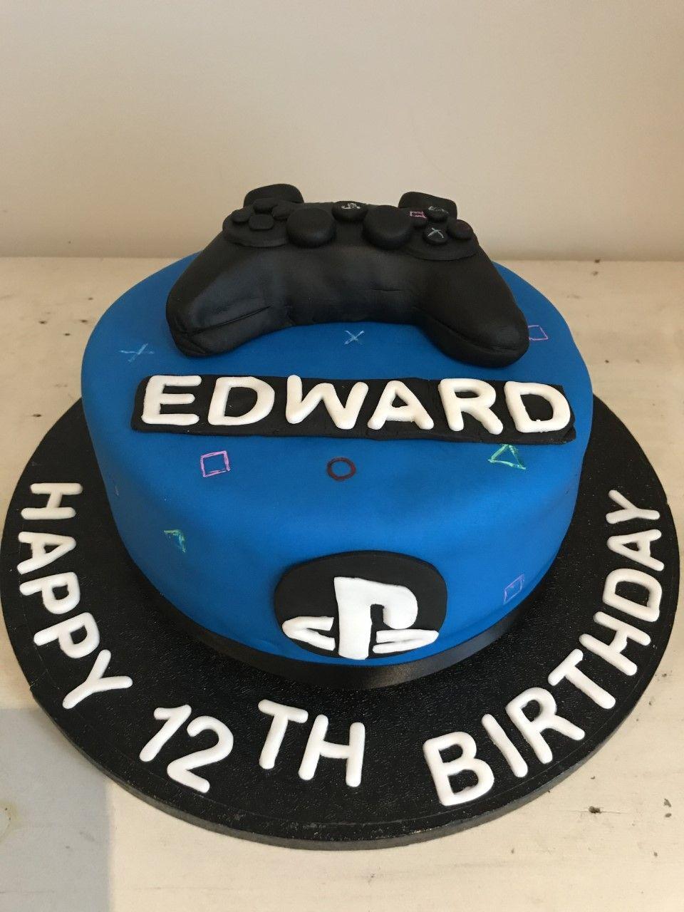 Ps4 gaming cake cake ps4 cake birthday cake