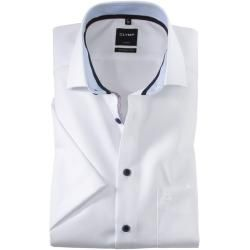 Photo of Olymp Luxor half sleeve shirt, modern fit, Global Kent, white, 39 Olymp