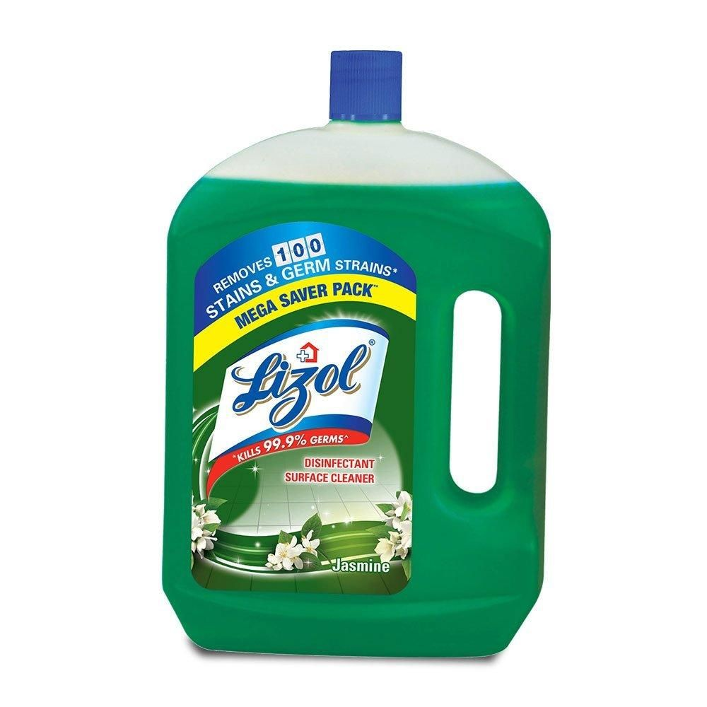 Lizol Disinfectant Surface Cleaner Jasmine 2 L Floor Cleaner Surface Cleaner Cleaners