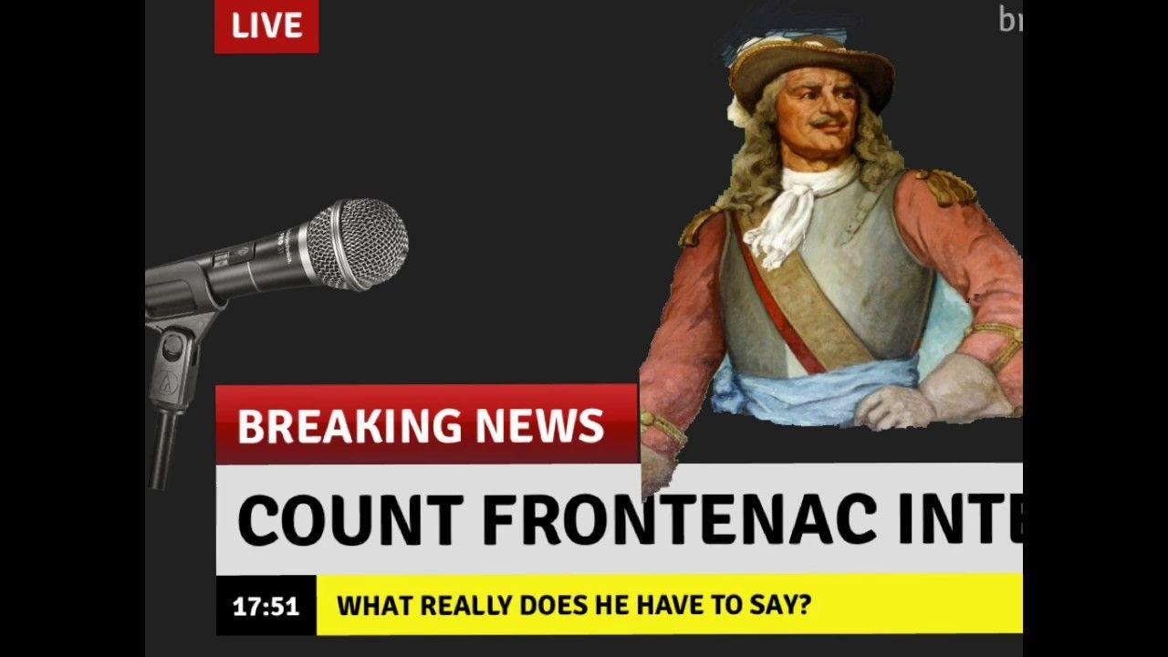 Count Frontenac Frontenac, Live breaking news, Breaking news