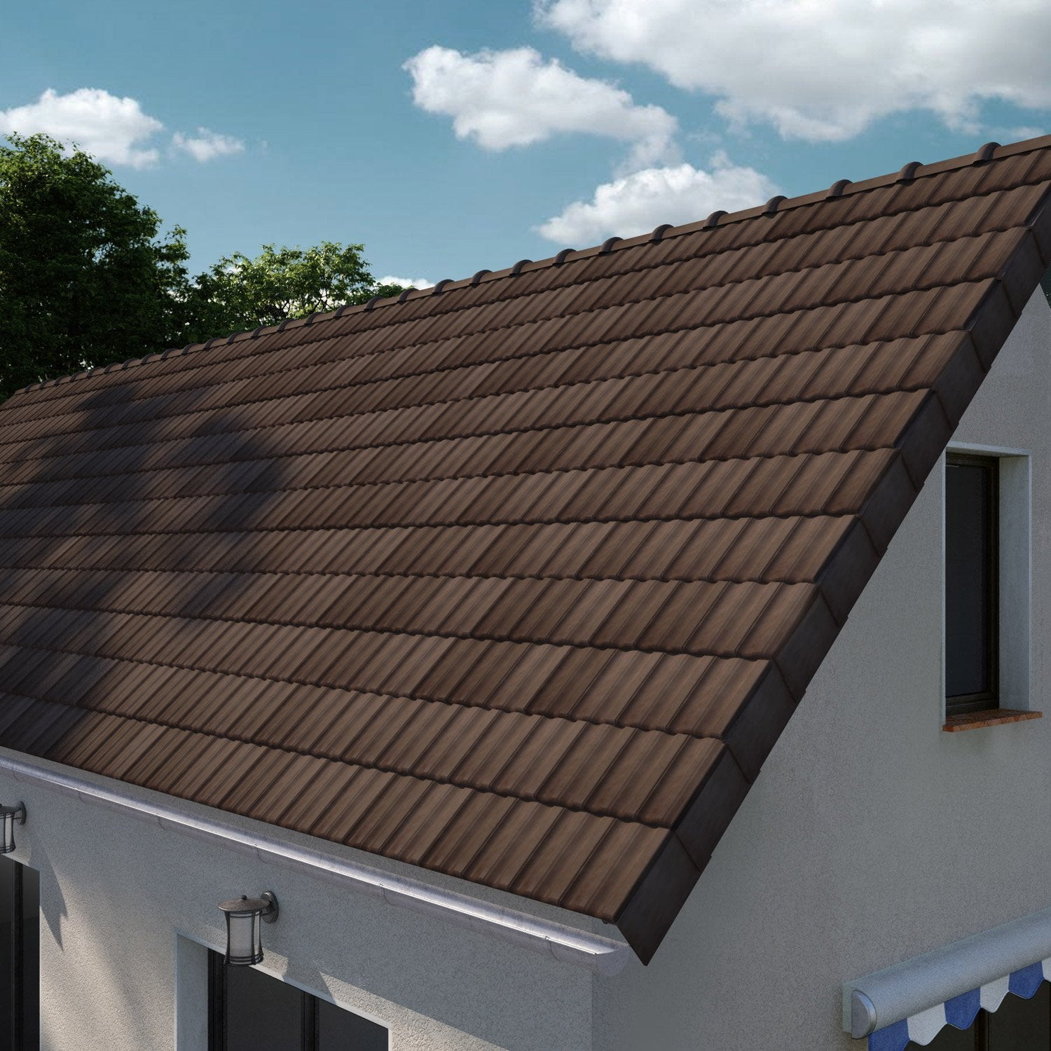Tuile Terreal Brun 1cb Products En 2019 Toiture Tuile