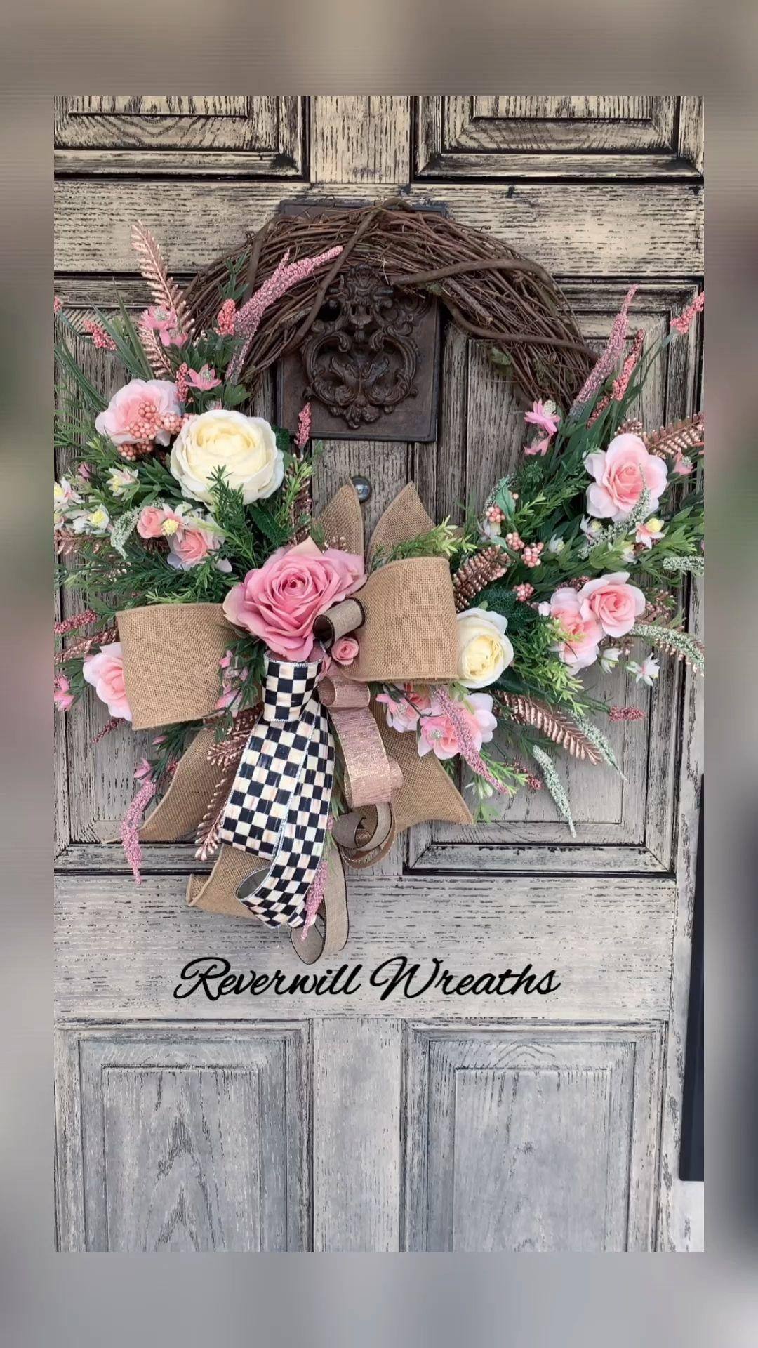 Photo of Reverwill Wreaths Corona di primavera