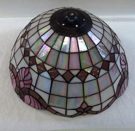 shopgoodwill.com: Tiffany Style Stained Glass Lamp Shade