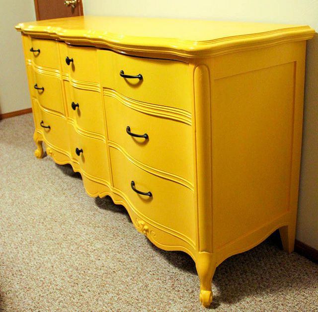 Best 25 Yellow Dresser Ideas On Pinterest White And