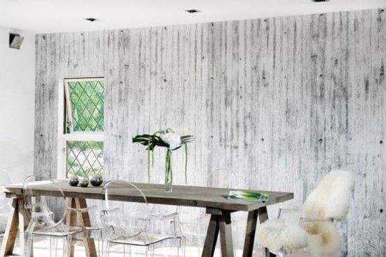 I Love The Walls Concrete Wallpaper Modern Interior Design Trends Wallpaper Trends