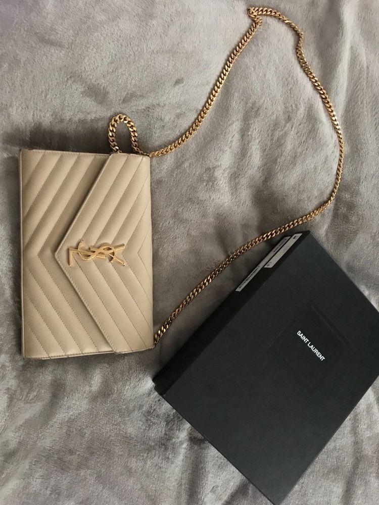 Saint Laurent Nude Loulou Medium Quilted Leather Shoulder