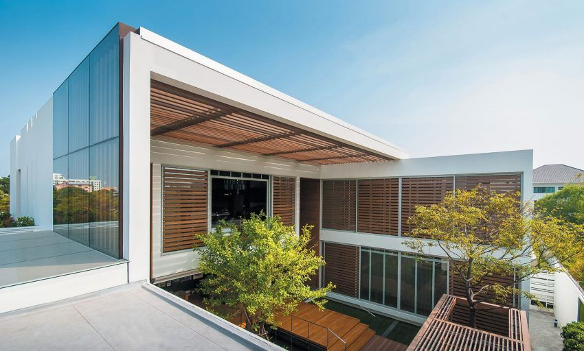 Openspace design creates a private residence in bangkok thailand